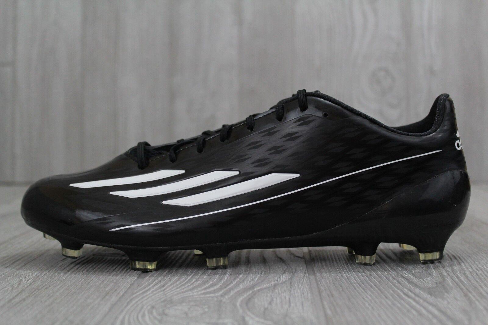 32 32 32 New Adidas Football Cleats AH1204 Black White Men's Size 11.5 bca2e7
