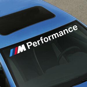 M-Performance-BMW-Decal-Windshield-Window-Vinyl-Front-or-Rear-Windshields