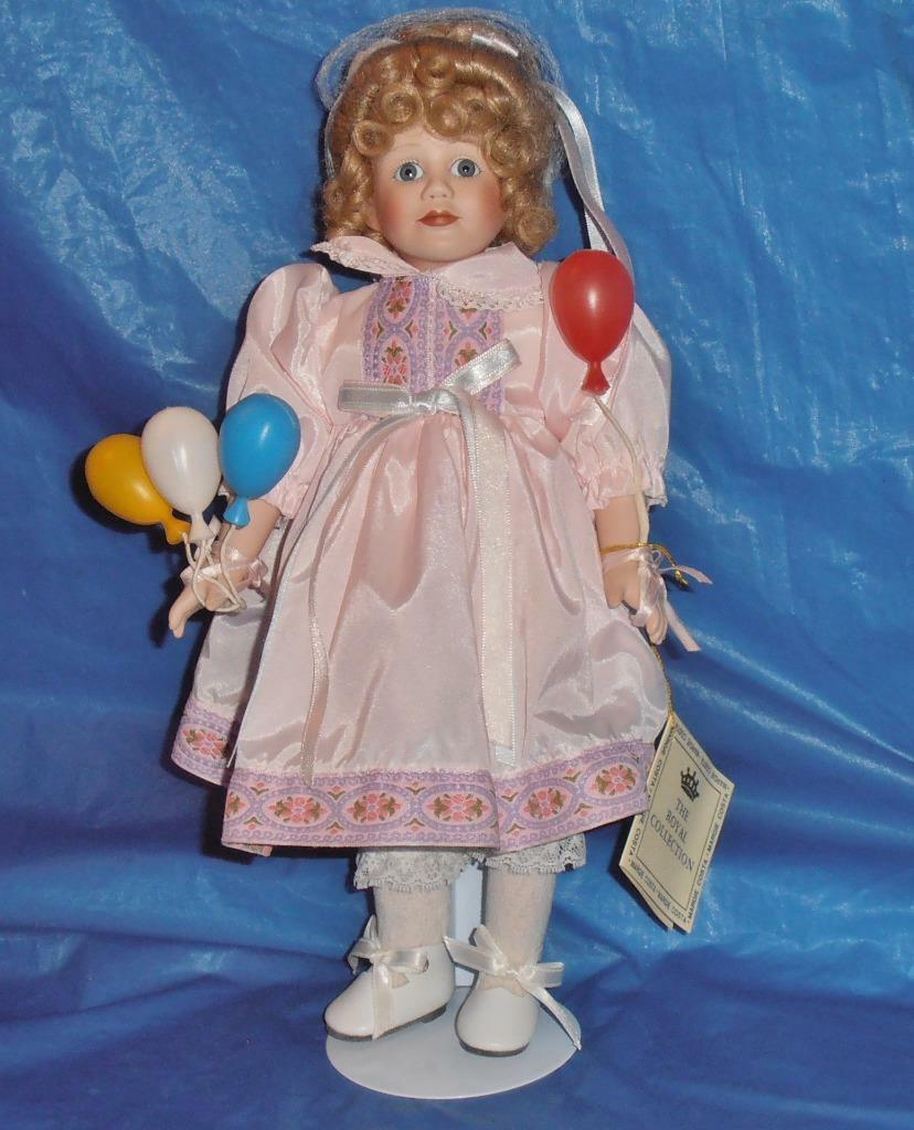 Margie Costa Vintage Porcelain Doll   Shelby   The Royal Col. Limted. Ed., COA