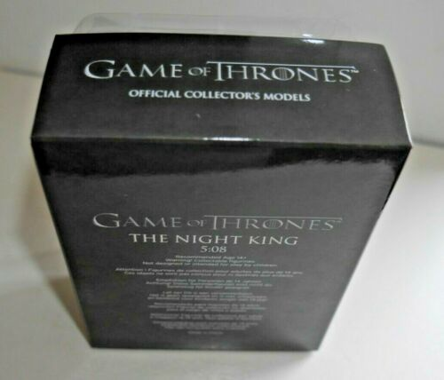 * SEALED Game of Thrones The Night King Model Figure 2017 HBO 32 Eaglemoss Neuf