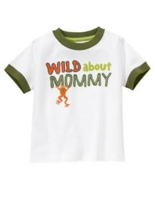 GYMBOREE JUNGLE EXPLORER Wild About Mommy FROG S//S TEE 3 6 12 18 24 2T 3T 4T NWT