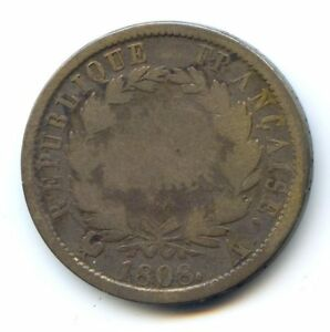 Empire Napoleon The1st (1804-1814) 2 Francs 1808 Paris