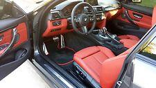 BMW F32, F82 (M4) 2 Door Coupe 2013+ Carbon Fiber Trim  w/Accent Color $200 RFND