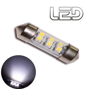 1-Ampoule-Navette-C7W-39-mm-39mm-6-LED-Blanc-Plafonnier-Habitacle-Coffre-sols