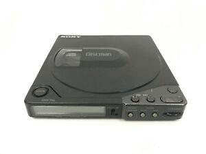 Vintage-Sony-Discman-D-15-Portable-CD-Player-amp-CMP-100P-AS-IS-Untested-For-Parts