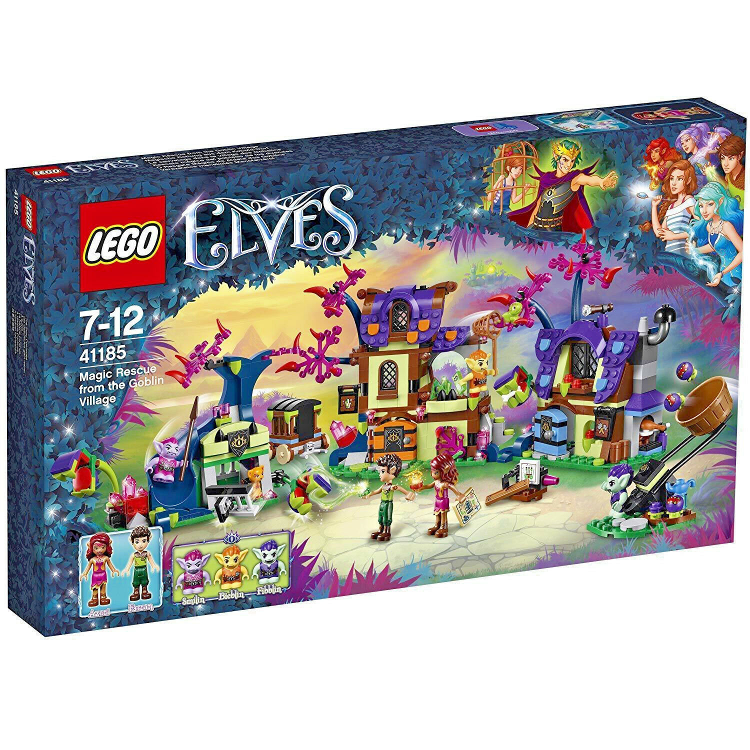 Lego 41185-Elfes Magic Rescue from the Goblin village – 637 PIECES