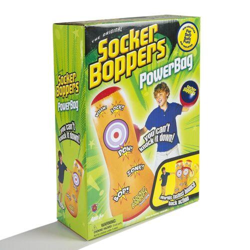 Big Time Toys Socker Bopper Power Bag Inflatable Punching Bag Toy