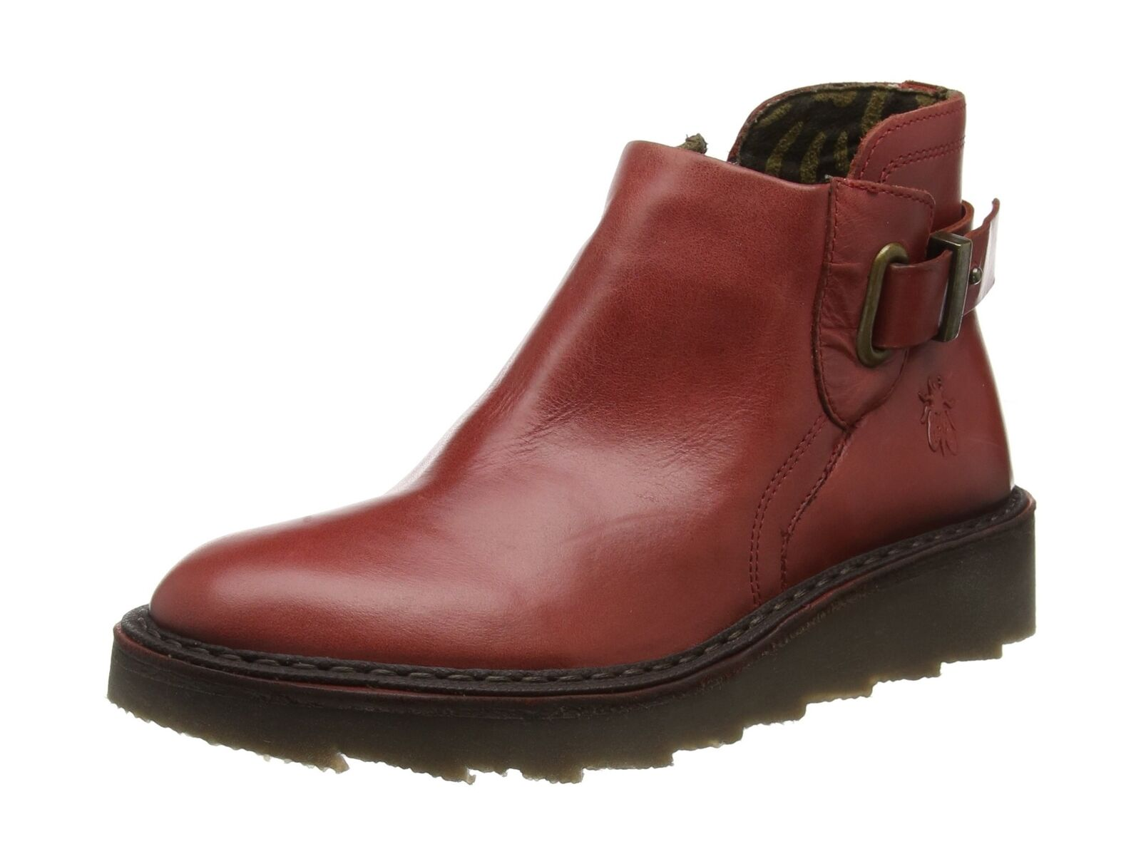 Fly London Women's Amie954fly Desert Boots Red (Red) 4 UK