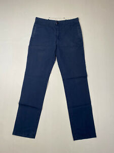 Levi-039-s-Chino-Hose-w32-l34-dunkelblau-super-Zustand-Herren
