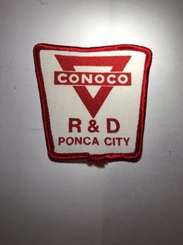 Conoco Patch R/&D PONCA CITY