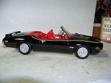 Jim Beam Club IAJBBSC  Black 1969 Pontiac GTO Judge Convertible Decanter