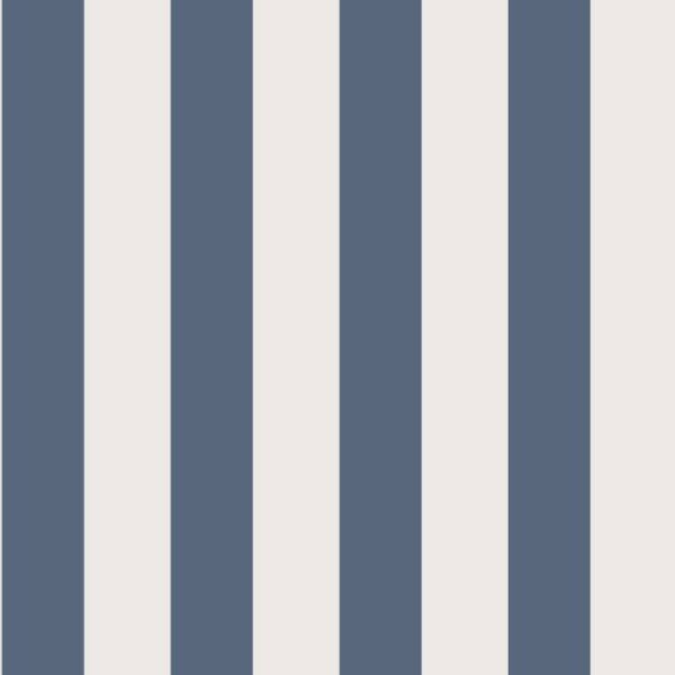29256520 - Baltic bluee Stripes Casadeco Wallpaper