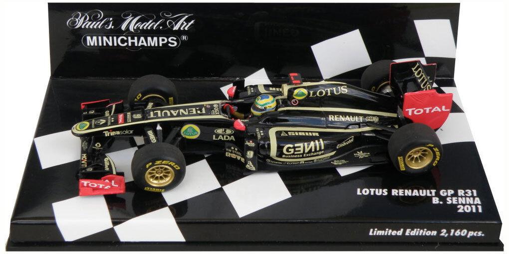 Minichamps Lotus Renault GP R31 2011- Bruno Senna 1 43 Scale