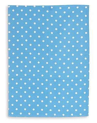 Triolino® Geschirrtuch, Halbleinen, Druckmotiv Punkte, 5 Farben, 50x70 cm