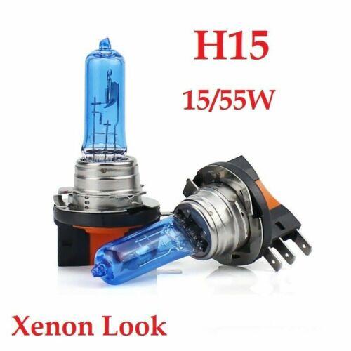 2x h15 feux diurnes source distante Xenon Look Effet Optique Halogène Lampes Poires