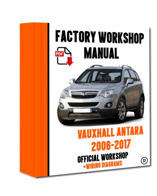 />/> OFFICIAL WORKSHOP Manual Service Repair Vauxhall Antara 2006-2017