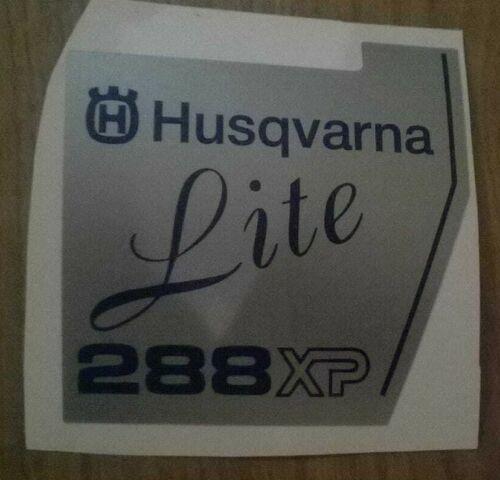 Husqvarna 288 Lite COVER sticker decal 503709804 replica