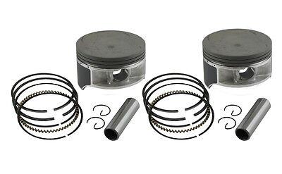 0.25 mm 1 Honda CB 250 K//G Kolbenringe Piston rings Kolben Übermaß os