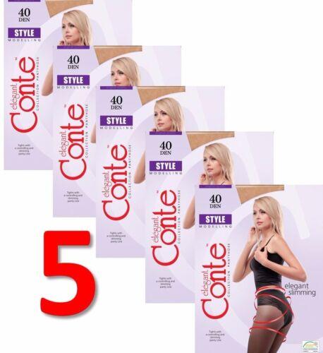40 5 Ladies's M Elegant Style L Shaping da Tights Den Conte da pezzi S Lotto donna vq5nf