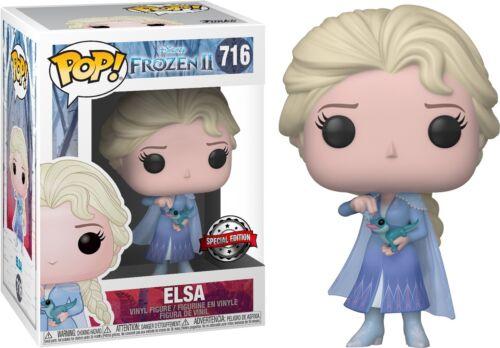Figura in vinile *** pre-ordine *** 2-congelato Elsa con SALAMANDRA Pop