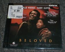 Beloved~RARE Vintage Collectabe DIVX Disc NOT DVD~NEW~Oprah Winfrey~Danny Glover