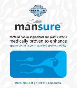 ManSure™ - Ayurvedic Reproductive Health Supplement for Men