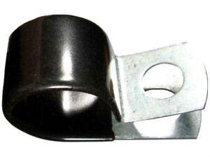 "Medium Duty Vinyl Coated Cushion Tubing Wiring Closed Clamps 1.5/"" 1-1//2/"" 25"
