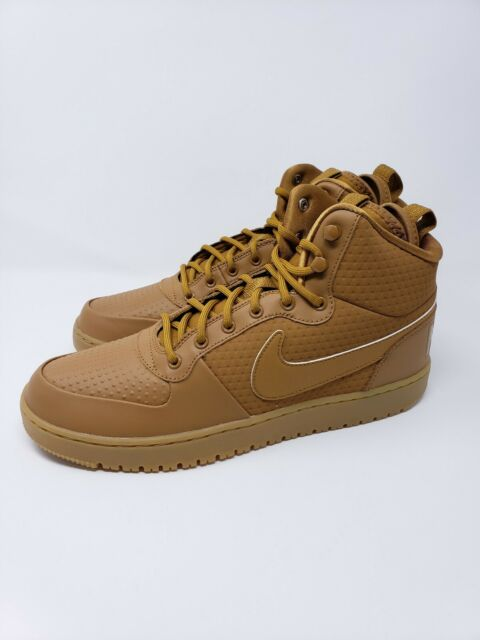 5bbc5fe4e7d74 Nike Court Borough Mid Winter Wheat AA0547-700 Mens Shoes Size 11 New with  Box