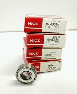 NICE 1602 DS TN bearings Lot of 2