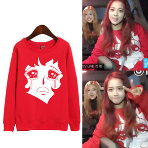 Details About Blackpink Jisoo Unisex Sweater Playing With Fire Pullover Sweatershirt Kpop New