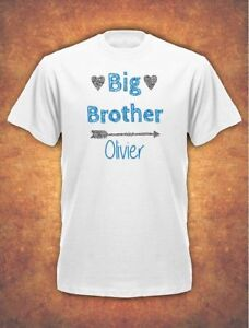 Image Is Loading Personalised Big Brother Birthday Present Gift Baby Children