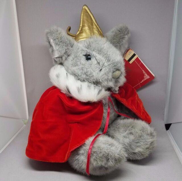 Macys Krismouse Plush Mouse Francesca Friends Red Cape Christmas 90s Stuffed MWT