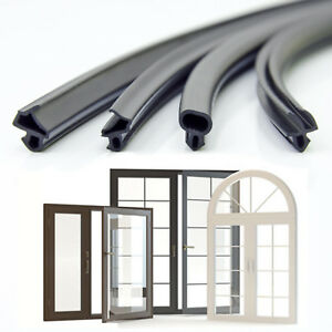 set muster 8 stk gummidichtung fensterdichtung fenster epdm kunststofffenster ebay. Black Bedroom Furniture Sets. Home Design Ideas