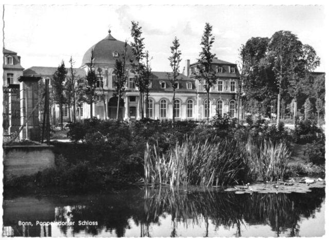 AK, Bonn, Poppelsdorfer Schloß, um 1962