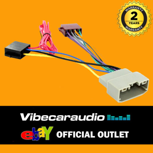 Chrysler Voyager 2008/> Car Stereo Radio Wiring Harness ISO Loom CT20JP03