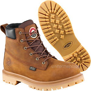 "Men Work Boots Red Wing Irish Setter Waterproof 6"" Safety Toe ..."