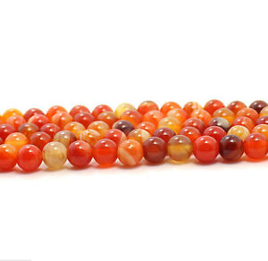 15-5-039-039-4mm-6mm-8mm-10mm-12mm-Natural-Orange-Carnelian-Agate-Gemstone-Stone-Beads