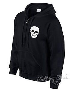 Skull-Zipped-Hoody-Rock-n-Roll-Hoodie-Hipster-Mens-Street-Heavy-Metal-Womens