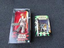 2 Star Wars Figurines (Jar Jar Binks & Boba Fett)