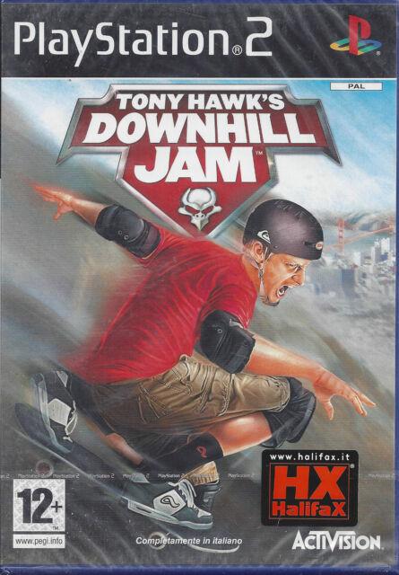 Ps2 PlayStation 2 **TONY HAWK'S DOWNHILL JAM** ver.1ª Uscita nuovo Italiano Pal