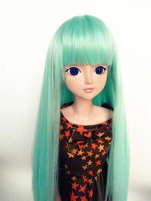 "1//8 Girl BJD SD Doll Wig Dollfie 5/"" DZ DOD LUTS Bjd Doll Wig Wave Grey  Wig"