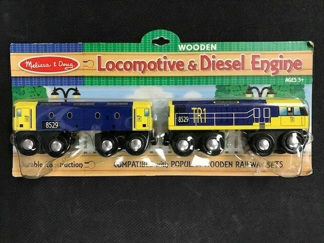 Melissa and Doug Wooden Diesel Engine #1474 Single New Sealed