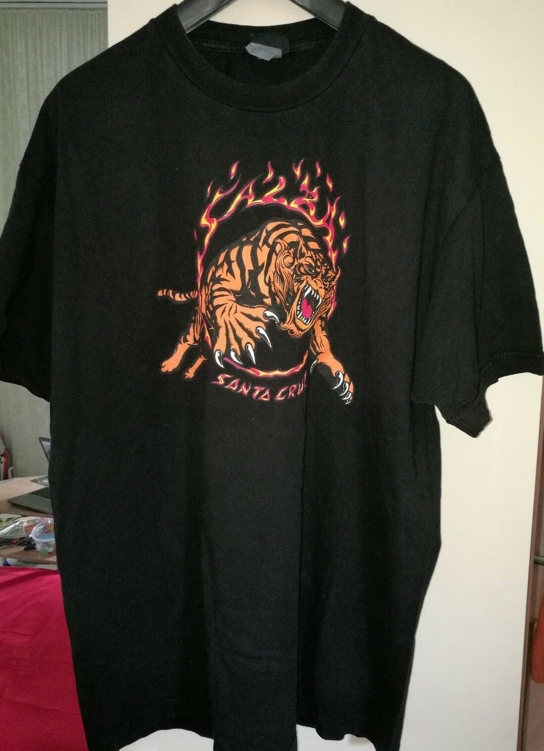 Santa Cruz Steve Salba T - Shirt Gr. XXL / XL schwarz Powell Peralta Vision