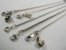 5 PC Lot 925 Solid Sterling Silver Charm Bracelets High Heel Shoe Pearl 19 Grams