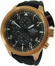 Thunderbirds XXL Flieger automatic Herrenuhr Stahl rosé gold IP Ø45mm pilotwatch