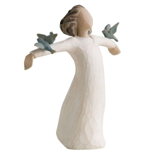 Willow Tree Happiness Figurine 26130 in Branded Gift Box