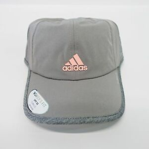adidas Women s Gray Superlite Climalite Adjustable Hat for sale ... 828ccea151