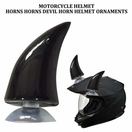 Horn Demon Accessories Decor Decoration Helmet Full Protection Motorcycle QP