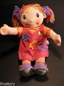 Maggie-Raggies-Doll-Zapf-Creation-Sweetie-Singer-17-inch-Posable-Plush-La-La