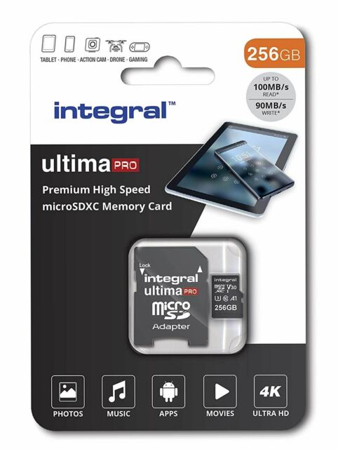 Integral 64GB SD card Premium 4K High Speed memory SDXC Up to 100MB//s V30...